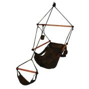 Hammaka 10008-KP Chair Black Wood Dowels
