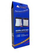ITA-MED Breathable Elastic Abdominal Binder for Men (9 Wide) - Large