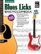 Alfred 00-18502 Blues Licks Encyclopedia - Music Book