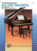 Alfred 00-3079 Basic Adult Piano Course- All-Time Favorites Book 1 - Music Book