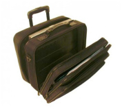 Stebco 267900BLK Dual Function Nylon Rolling Computer Case
