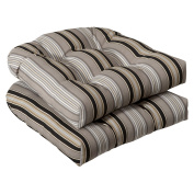 Pillow Perfect Inc. 386164 Pillow Perfect -Black/Beige