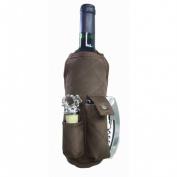 Picnic Gift 2340-CH Wine Apron - Chocolate