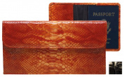 Raika NI 174 BLK Travel Pouch with Passport - Black