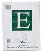 Roaring Spring Paper Products 95389 Engineering Pad - 24 Per Case
