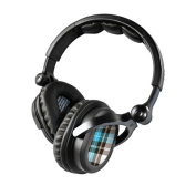 DecalGirl KHP-PLAID-TUR KICKER HP541 Headphone Skin - Turquoise Plaid
