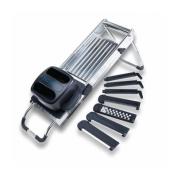 Jaccard 200441 Safe Hands Madolin Slicer - 7 Blades Stainless Steel