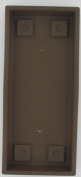 Myers-itml-akro Mils 24in. Chocolate Venetian Flower Box Trays SVN24000E21 - Pack of 6