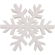 Smoothfoam Snowflake Crafts Foam for Modelling, 30cm , White