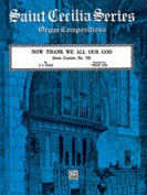 Alfred 00-GSTC00868 Now Thank We All Our God- from Cantata No. 79 - Music Book