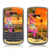 DecalGirl B965-SFLAMINGO BlackBerry Bold 9650 Skin - Sunset Flamingo