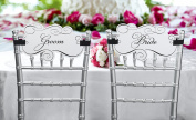 Lillian Rose WF679 Bride& Groom Chair Signs