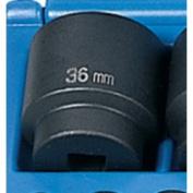 Grey Pneumatic GRE2036M .50in. Drive Standard Metric Impact Socket - 36mm