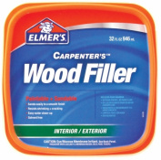 Elmers-xacto 0.9l Carpenters Paintable Wood Filler E842L