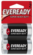 Energizer - Eveready 2 Pack C Cell Heavy Duty Batteries 1235SW-2