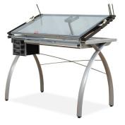 Studio Designs 10050 Futura Craft Station - Silver - Blue Glass