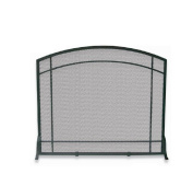 Blue Rhino S-1029 SINGLE PANEL BLACK WROUGHT IRON MISSION SCREEN