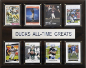 C and I Collectables 1215ATGORE NCAA Football Oregon Ducks All-Time Greats Plaqu