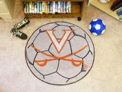 FanMats University of Virginia Soccer Ball Mat F0001940
