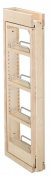 Rev-A-Shelf RS432.WF.3C 3 in. W x 30 in. H Wall Filler Pull Out Wood