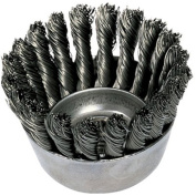 Advance Brush 410-82330 2-3-10.2cm Knot Wire Cup Brush .020 Ss Wire
