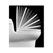 Centoco 1400SC-301 Crane White Luxury Safety Close Toilet Seat