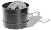 Chimney 69006 Dura-Vent DuraBlack 6 in. Dia Stovepipe Adaptor with Damper Section