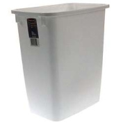 Rubbermaid 19.9l White Wastebasket FG280500WHT