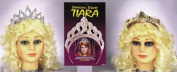 Costumes For All Occasions FW9195PW Tiara Sparklng Prl Wht Seqn