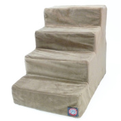 Majestic Pet Products 788995675112 4 Step Stone Suede Pet Stairs