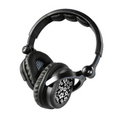 DecalGirl KHP-ALOHA-BLK KICKER HP541 Headphone Skin - Aloha Black