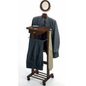Winsome 94155 Antique Walnut Beechwood VALET STAND