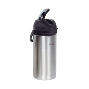 BUNN 36725.0000 3.8-Litre Lever-Action Airpot, Stainless Steel