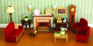 Sylvanian Families - Luxury Living Room Set
