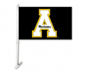 BSI PRODUCTS 97176 Car Flag with Wall Brackett - Appalachian State