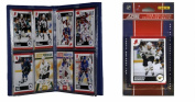 C & I Collectables 2010STARSTS NHL Dallas Stars Licenced 2010 Score Team Set and Storage Album