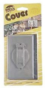 Hubbel Electric Raco Gray Single Gang Weatherproof Device Box Cover 5155-5