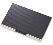 Aeropen International CC-110 Carbon Fibre Chrome Plated Card Case