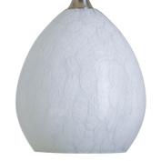 Nora Lighting NRS80-491W 1.6m x 0mD x 1.6m x 0mL Snow Shade - White
