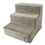Majestic Pet Products 788995675099 3 Step Stone Suede Pet Stairs