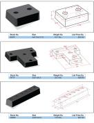 Ranco Industries BGPF Tritan Dock Bumpers 4 x 9.75 x 12.75