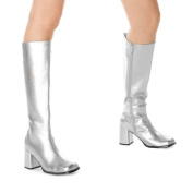Ellie Shoes 149640 Gogo- Silver Adult Boots