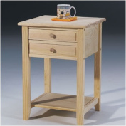 International Concepts OT-92 Lamp Table with 2 Drawers