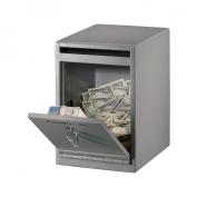 SentrySafe UC-039K 20.3cm .W Under Counter Drop Slot Depository Safe
