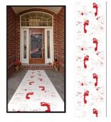 Beistle Bloody Footprints Runner, 60cm by 3m