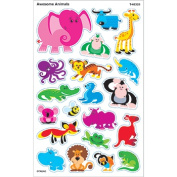 Trend Enterprises Inc. T-46328 Awesome Animals Supershapes Stickers Large