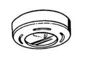 Dainolite XENO-89-BK Xenon Mini Pot Light with 18W Bulb - Black