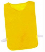 Olympia Sports PC137P Adult Nylon Mesh Pinnie - Gold