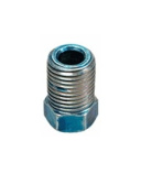 S.U.R. & R. SRRBR210 M10 x 1.0 Blue Inverted Flare Nut