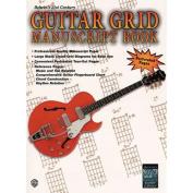 Alfred 00-EL9929 21st Century Guitar Grid Manuscript Book - Music Book